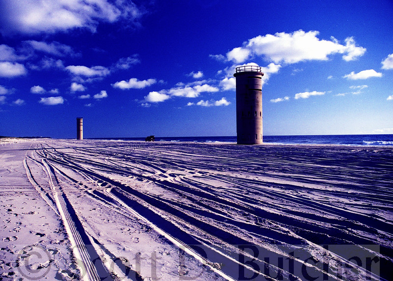 World War II Observation Towers, Cape Henlopen, DE.