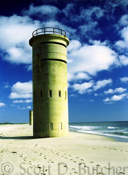 World War II Observation Towers, Cape Henlopen, DE.
