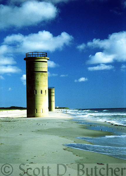 World War II Obersvation Towers, Cape Henlopen, DE.