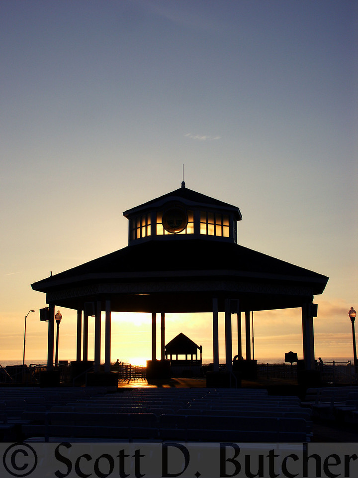 Bandstand Silhouette, Rehoboth Beach