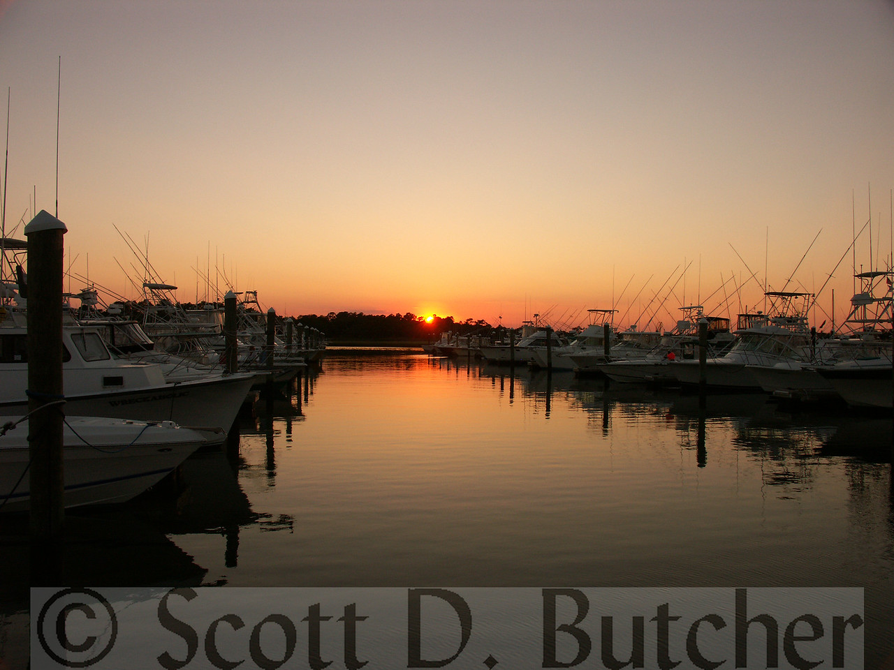 Dusk, Indian River Marina