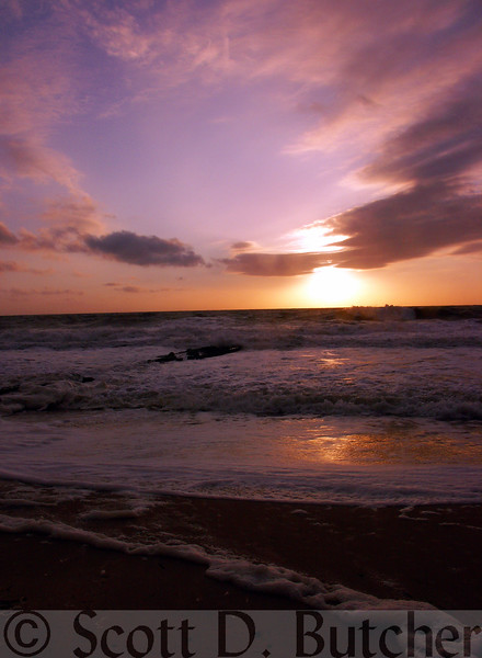 """Emily's Sunrise,"" Bethany Beach, DE."