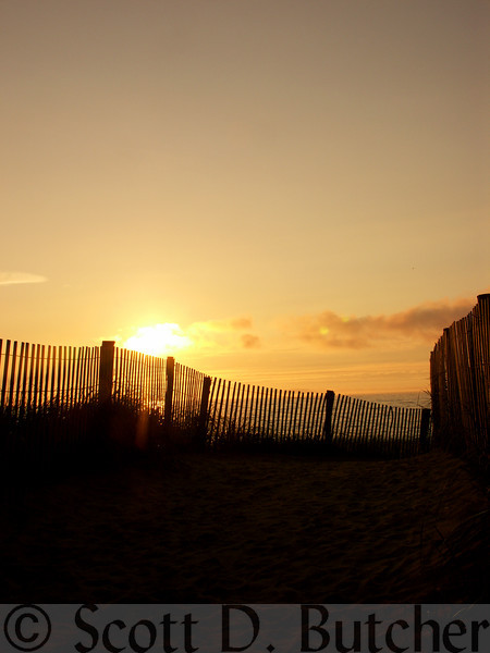 Sun over the Dunes, Rehoboth Beach
