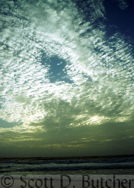 Clouds over the Ocean, Bethany Beach, DE.