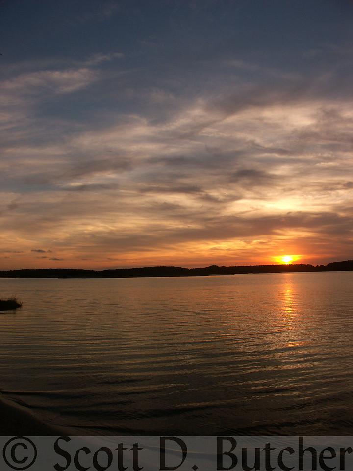 Serenity, Assawoman Bay, DE.