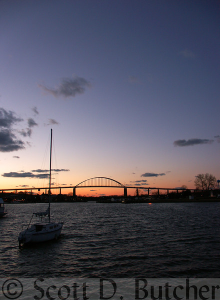 Twilight, Chesapeake City, MD.
