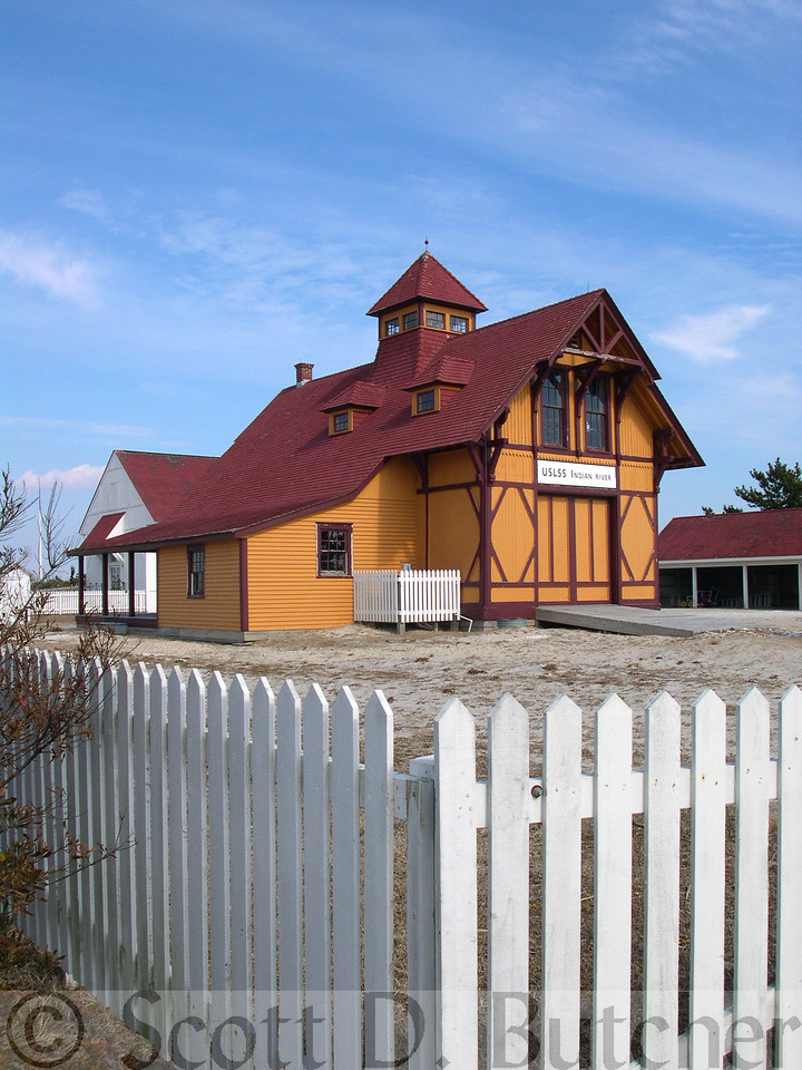 Indian River Life Saving Station, DE.