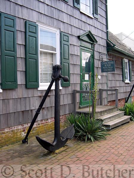 Cannonball house, Lewes, DE.