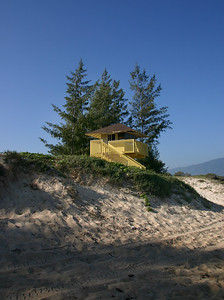 The Lifeguard's Tower at Kanaha Beach Park, Kahului, North Maaui.