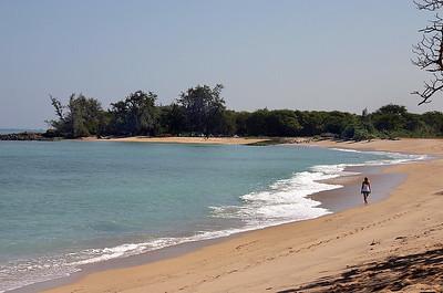 First on the beach. Kanaha Beach, Maui.