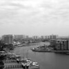 Destin Harbor (B/W)