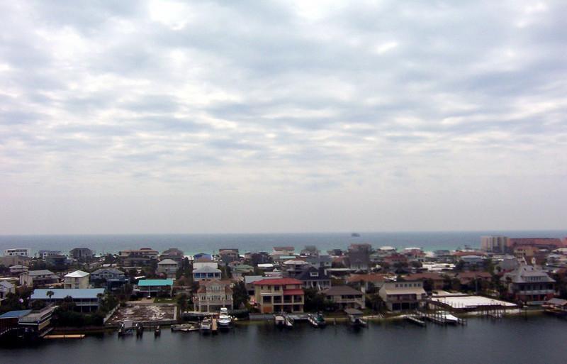 View of Destin Harbor