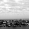 View of Destin Harbor (B/W)