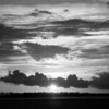Destin Sunset (B/W)