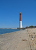 """Barnegat Lighthouse, colloquially known as """"Old Barney"""", is located in Barnegat Lighthouse State Park on the northern tip of Long Beach Island, in the borough of Barnegat Light, New Jersey, in the United States. It sits along the Barnegat Inlet.  More: <a href=""""http://en.wikipedia.org/wiki/Barnegat_Lighthouse"""">http://en.wikipedia.org/wiki/Barnegat_Lighthouse</a>"""