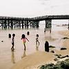Children & Pier.