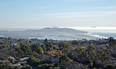 Looking South to Point Loma and Coronado Islands