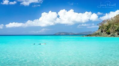 Trunk Bay Snorkel, St John Island - US Virgin Islands