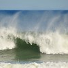Waves crashing on Coast Guard Beach in the Atlantic Ocean, Cape Cod, Massachusetts