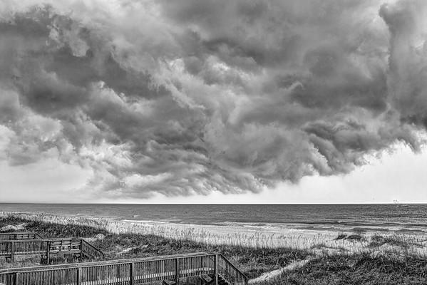 Drama over the Beach