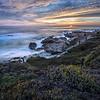 Sunset on Asilomar Beach near Monterey, California