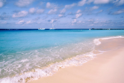the beach at Grand Turk