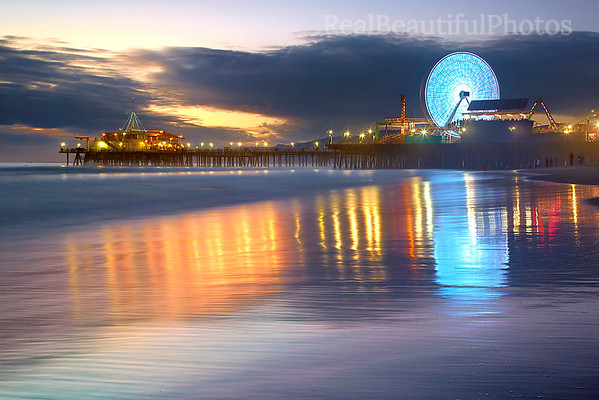 Santa Monica Spin #4 - Santa Monica Pier, California