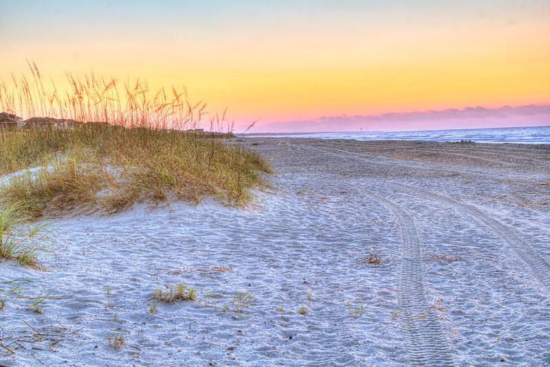 Serene Beach Dawn