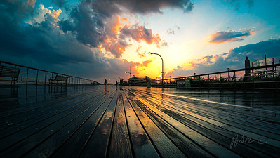 Boardwalk After the Rain