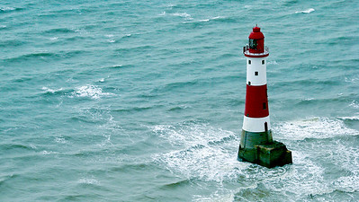 Beachy Head light house - East Sussex.