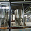 Beer being made on site