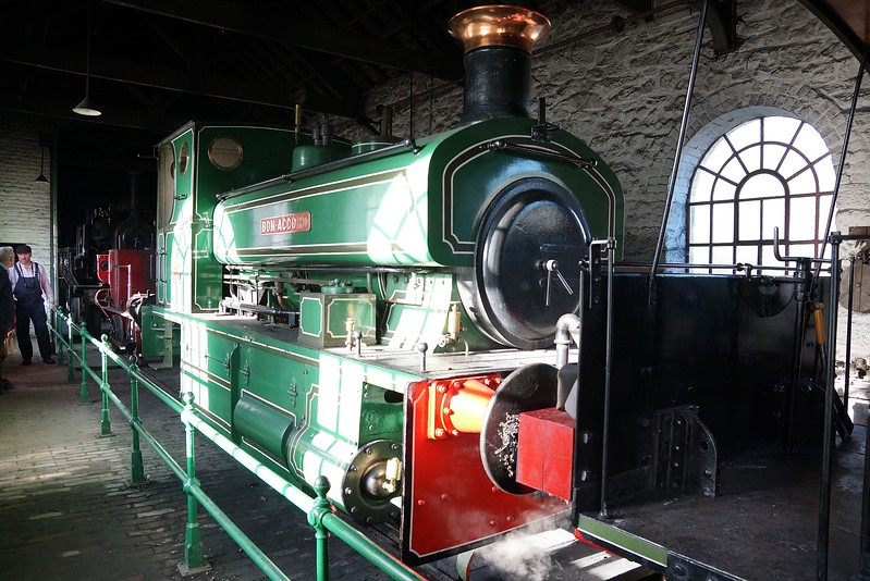 ST 807 AB 0-4-0ST 25,09,2016 (From The Royal Deeside Railway)