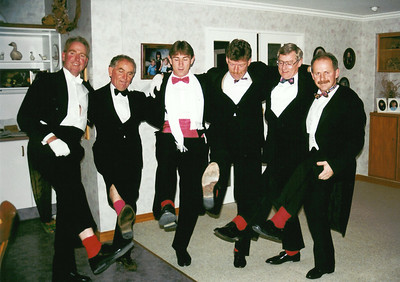 272 13 Jun 1995 graham, Wayne, Tim, Greg & John debutantes ball