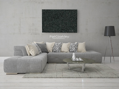 Modern living room with hipster background.