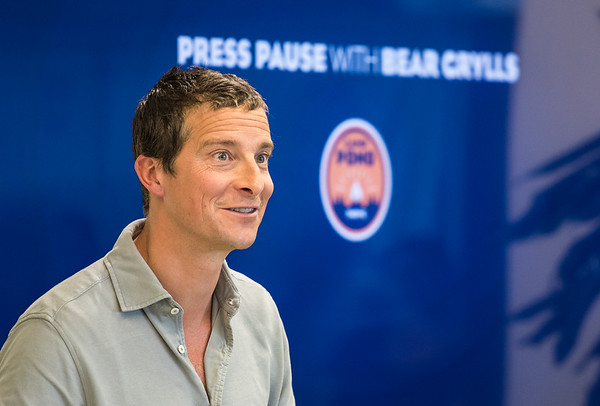 Bear Grylls at Salesforce