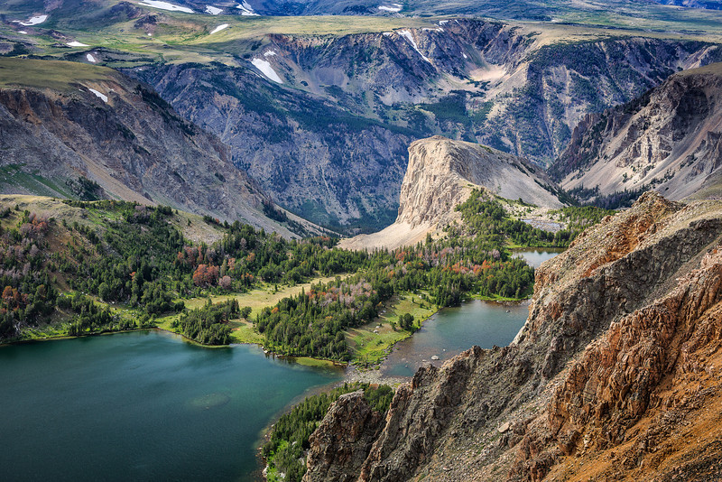 Twin Lakes<br /> Bear Tooth Pass, WY