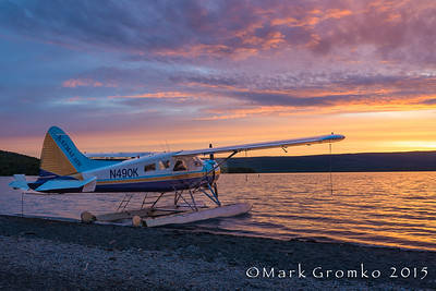 Sunrise at Naknek Lake, Alaska - Bears, Bears, Bears - Mark Gromko - September 2015