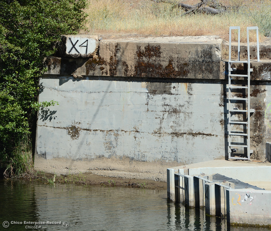 . A fish ladder on Butte Creek aspeople beat the heat Friday, June 16, 2017, in the Butte Creek Ecological Preservein Chico, California. (Dan Reidel -- Enterprise-Record)