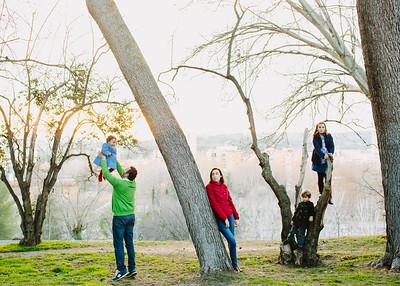 Beatriz, Paulino y familia