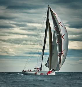 Beau Geste | Farr 80 | Sail Change