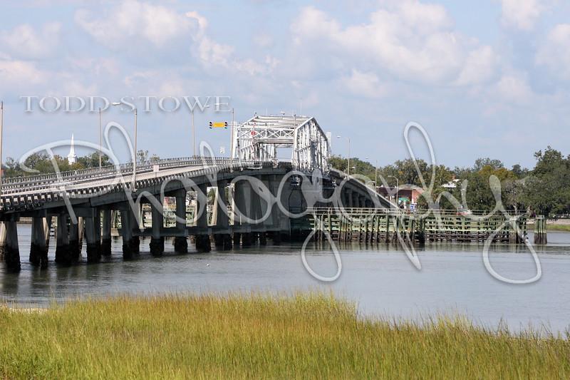 Lady's Island View of the Woods Memorial Bridge