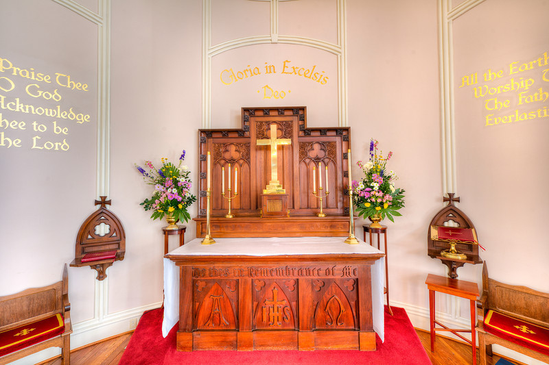 Photo of St. Helena's Episcopal Church in Beaufort, SC