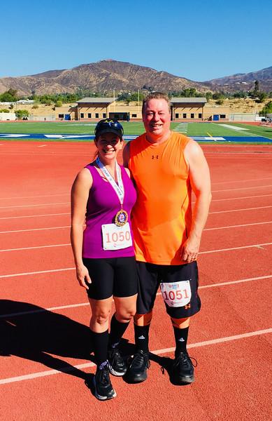 Beaumont Spirit 10K Run, Cherry Valley CA September 22, 2018