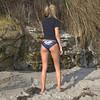 Beautiful Blonde Swimsuit Bikini Model Goddess