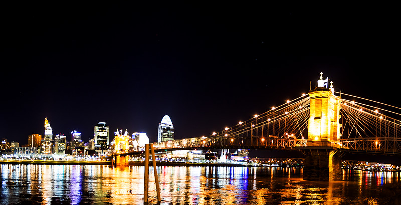 Roebling Bridge Panorama