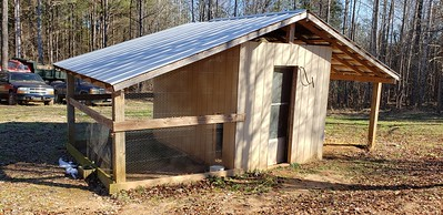 Chicken Coop and Equipment Shed