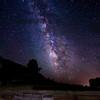 Milky Way, near Bryce National Park, Utah