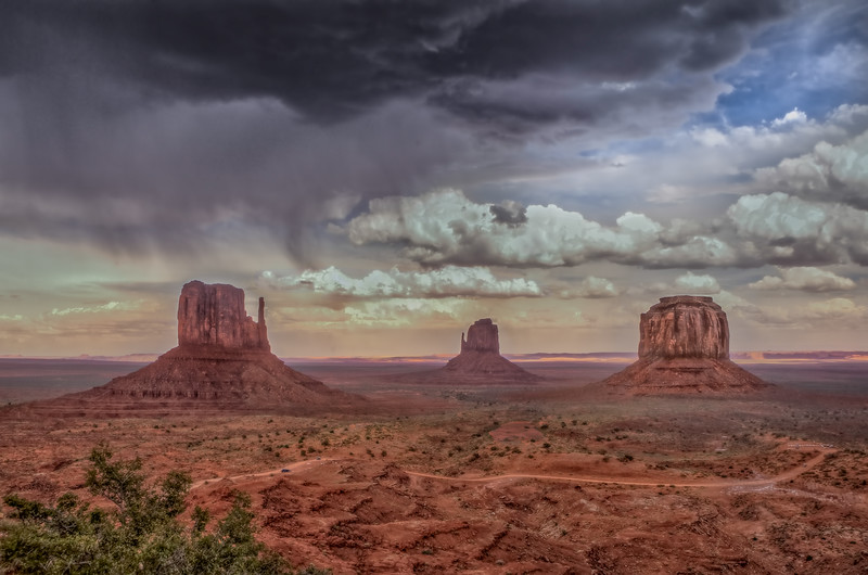 The Mittens, Monument Valley, Arizona-Utah