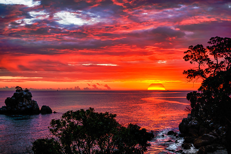 New Caledonia Sunset