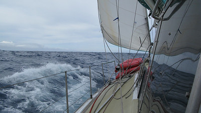 Drake Passage, heading way south